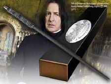 Harry Potter baguette magique SEVERUS ROGUE edition personnage + clip métal