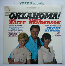 OKLAHOMA - Cast Recording JOHN RAITT - Excellent Condition LP Record CBS OS 2610