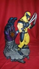 Wolverine VS Sentinel Statue Premium 1/4 Scale X-Men Civil War Like Sideshow