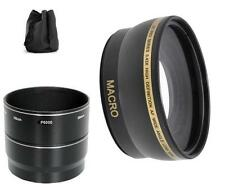 Wide Angle Lens Pro Series for Nikon Coolpix P6000 (Black)