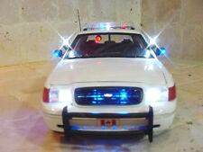 """Royal Canadian Mounted"" POLICE 1/18 Police Diecast Car Lights and SIREN RCMP Ut"