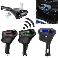 Stereo Wireless FM Transmitter Cigarette Lighter Car Kit USB charger MP3 player