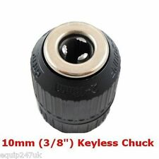 "10mm keyless chuck 3/8""x24 UNF female thread corded cordless drill bosch dewalt"