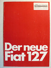 Prospekt - der neue Fiat 127 L / CL, 12.1977, 16 Seiten