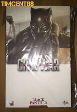Ready! Hot Toys Captain America Civil War 1/6 Black Panther Boseman T'Challa