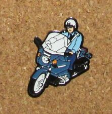 A12 (1)   pin POLICE POLICEMAN MOTOR CYCLE  1.2""
