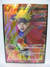 Naruto Miracle Battle Carddass Promo P NR-06 BB  Uzumaki Booster Box version