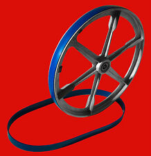 "2 ULTRA DUTY BLUE MAX URETHANE BAND SAW TIRES 14 5/8"" X 1 1/4"""