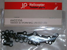 R/C HELICOPTER PARTS TWISTER 3D STORM 6602336 BALL LINK END 20