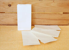 50x Small White Kraft Party Favour Bags Lolly Bag Loot & Gift Bags Lolly Buffet