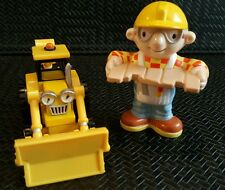 BOB THE BUILDER DIECAST VEHICLE SCOOP AND BOB THE BUILDER FIGURE