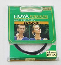 NEW HOYA SKYLIGHT FILTER 49MM, PITCH 0.75, NIB, *SHIPS FREE*