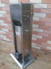 10L Home Restaurant Vertical Sausage Stuffer Filler Meat Maker Machine 2 Speed