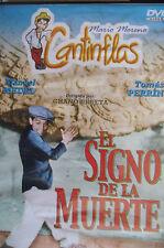 """PELICULA FORMATO DVD MARIO MORENO CANTINFLAS """"EL SIGNO DE LA MUERTE"""""""