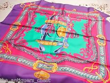 "Hermes Paris 2015 ""Bride de Cour"" scarf 34"" side. new in box"