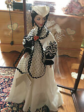 FRANKLIN  MINT SCARLETT O'HARA NEW ORLEANS DOLL, GONE WITH THE WIND ,RARE