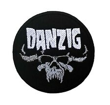 """DANZIG EMBROIDERED SEW OR IRON ON PATCHES 3""""x3"""""""