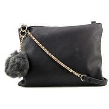 Designer Rosie Women Black Shoulder Bag NWOT