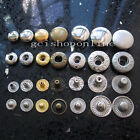 50 Set Leather craft Rapid Rivet Button Snap Fasteners KAM 10mm 3/8
