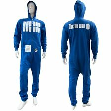 Doctor Who Blu Adulti Uomo Tardis TUTINA