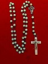 CATHOLIC ROSARY WITH CROSS GLOW IN DARK MADE IN ITALY