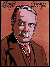 ART PRINT POSTER PAINTING PORTRAIT DAVID LLOYD GEORGE PRIME MINISTER NOFL0952