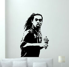 Ronaldinho Wall Decal Soccer Football Vinyl Sticker Sport Art Decor Mural 5zzz