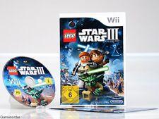 LEGO STAR WARS III / 3 - THE CLONE WARS - dt. Version - °Nintendo Wii Spiel°