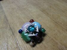 LOVELY JOAN RIVERS MID CENTURY STYLE COSTUME JEWELRY BROOCH PIN