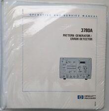 HP 3780A Operating & Service Manual w/Schematics P/N 03780-90023 Rev June 1985