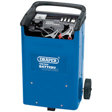 Draper 11966 12 / 24V 240A Battery Jump Starter / Charger Booster w/ Trolley