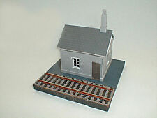 DORNAPLAS 4MM SCALE PLASTIC KITS LEVEL CROSSING KEEPERS COTTAGE STONE REF PSW10