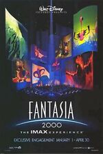 FANTASIA 2000 MOVIE POSTER ~ IMAX ORIGINAL 27x40 Walt Disney Mickey Mouse