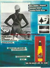 "Molson Beer ""Mary J Bayben"" 1999 Magazine Advert #2285"