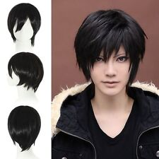 Vogue Short Straight Party Cosplay Fashion Men's Women's Hair Full Wig +Free Cap
