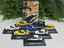 Initial D 1-72 Diecast Model Car SET (Mazda, Subaru,TOYOTA,Honda,Mitsubishi)8Nos