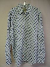 NWOT Men's Pepe Jeans L/S Button Front Shirt Size 2XL Multi #624D
