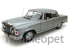 NOREV 183529 1969 69 MERCEDES BENZ 280 SE COUPE 1/18 DIECAST GREY