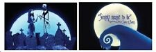Disney Nightmare Before Christmas Pillow Case Sham reversible Jack Sally new