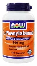 NOW Foods L-Phenylalanine 500 mg. - 120 Caps Fast Shipping