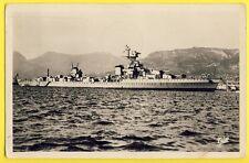 cpa Marine Française Le CROISEUR LEGER Emile BERTIN Navire Mouilleur de Mines