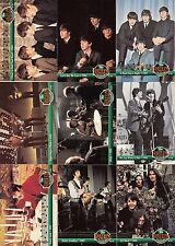 THE BEATLES COLLECTION 1993 RIVER GROUP #1 HITS INSERT CARD SET 1 TO 10 MU