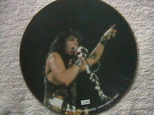 "KISS ""INTERVIEW"" PICTURE DISC 1981 MINT UNPLAYED U.K. IMPORT"