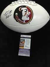 JAMEIS WINSTON FLORIDA STATE SEMINOLES SIGNED FULL SIZE FOOTBALL JSA J66212