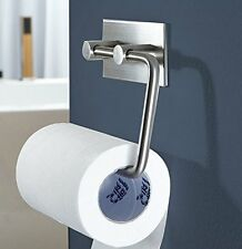 Stainless Steel Bathroom Toilet Tissue Paper Roll Dispenser Holder Wall Mounted