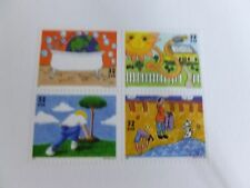 United States Scott # 2951-2954 (2954a), the 32 cent Kids Care, Earth Day