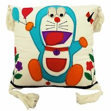 cotton cushion cover 16'' patchwork Doraemon kids cartoon pillow cotton case