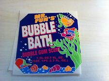 Mr. Fun's Bubble Bath Bubble Gum Scent Tropical Fish sticker/Decal Promotional