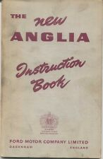 Ford New Anglia 100E Original UK Owners Handbook 1956 No. A856/556