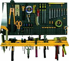 Garage Wall Tool Rack Storage Kit Tools Organizer Home Shelves Including 50 H...